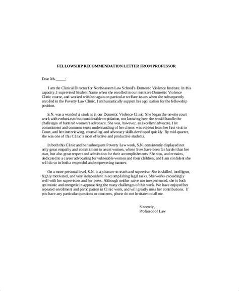 7 Sle Recommendation Letter From Professor Sle Templates Letter From Letter Template