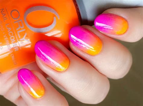 easy nail art with two colours модный маникюр 2018 года новинки с фото