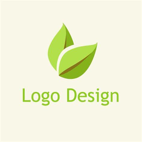 design logo gratis kaskus free vector design eco leaf logo vector logo pinterest
