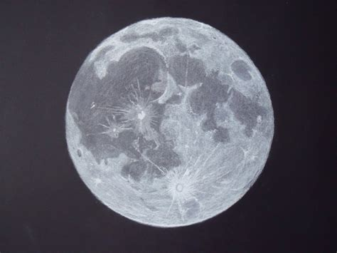 Drawing The Moon by Moon Drawing At Getdrawings Free For Personal Use
