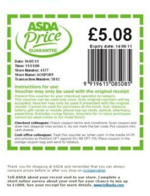 printable vouchers supermarket shopper s 163 8 600 asda spree for free loophole found in