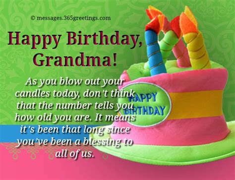 Happy Birthday Wishes For Grandmother Birthday Wishes For Grandparents 365greetings Com