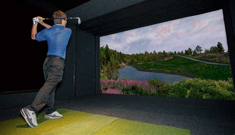 full swing indoor golf what is golf simulator technology full swing golf