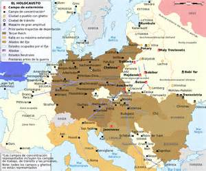 Map Of Europe Before Ww2 by File Ww2 Holocaust Europe Map Es Svg Wikimedia Commons