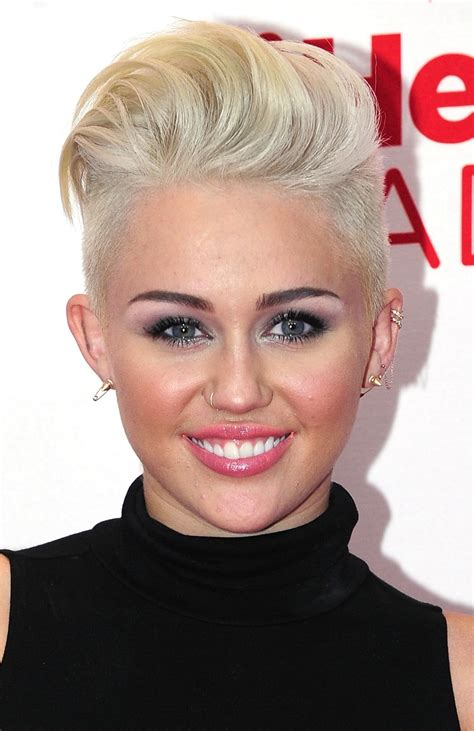 short haircuts to make face look longer miley cyrus maksatbilgi