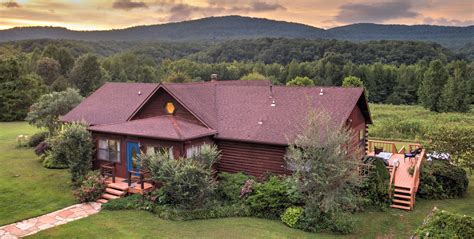Blue River Cabins by Blue Heaven Log Cabin Resort In Northwest Arkansas