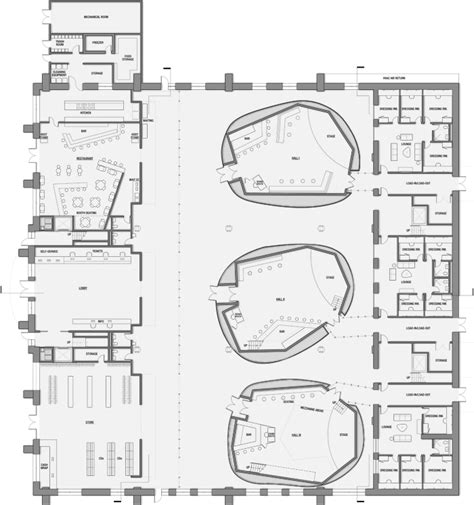 venue floor plan music venue by olena ivanina at coroflot com