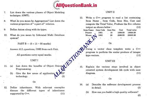 system software compiler design questions and answers oriented design and programming and operating system