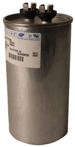 ge capacitor z97f9001 fasco c3s7 5 proline 7 5 mfd 370 volt single microfarad capacitor with 1 25 inch base size and 2