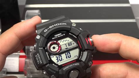 Casio Gw 9400 1dr casio g shock review and unboxing gw 9400 1 rangeman