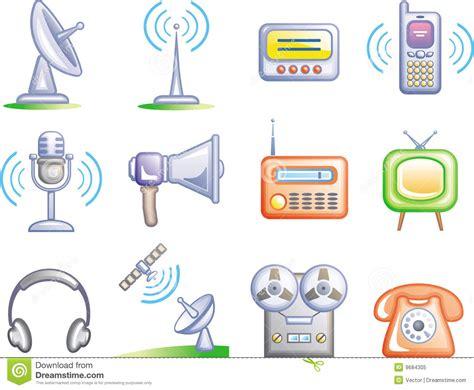 imagenes tipo vector telecomunicaciones iconos del vector fijados ilustraci 243 n
