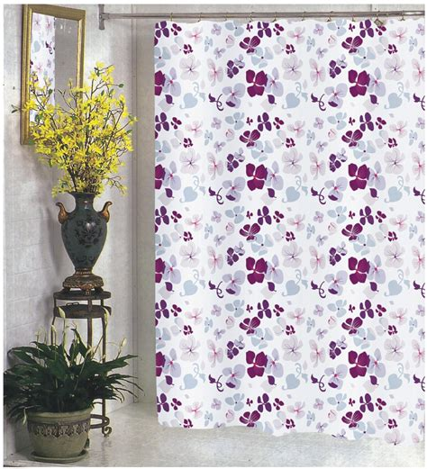 108 long shower curtain carnation home fashions inc extra wide fabric shower