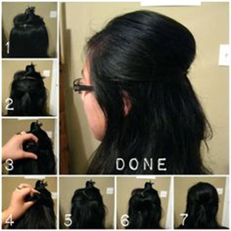 how to make easy puff hairstyles 1000 images about hair on pinterest hair poof poof and