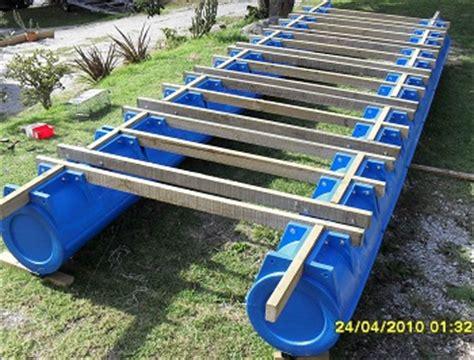 make your own pontoon boat diy pontoon tiny houses
