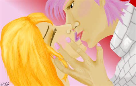 fairy tail natsu and lucy kiss scene www imgkid com