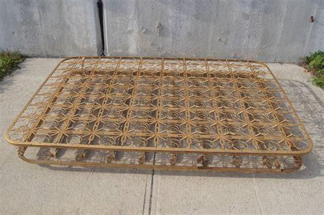 bed springs vintage metal coil bed spring at 1stdibs