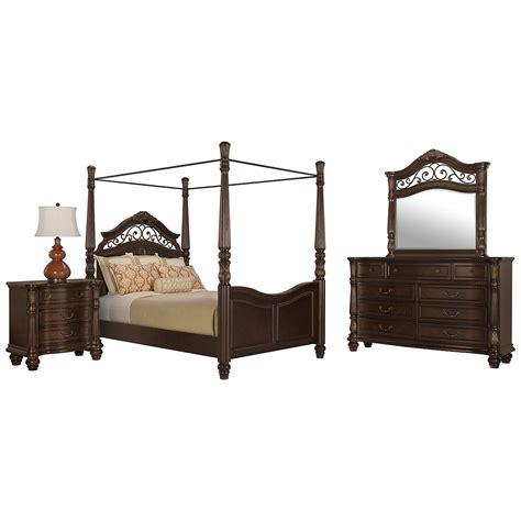 Tradewinds Bedroom Furniture City Furniture Tradewinds Tone Canopy Bed