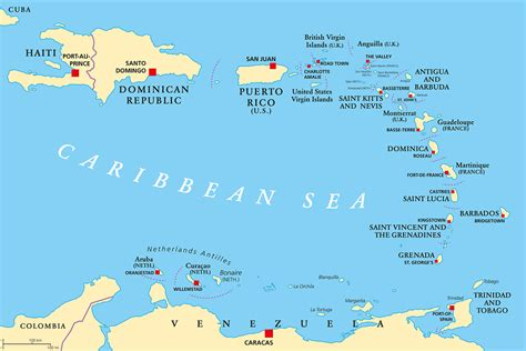 map of caribbean islands st caribbean islands images search