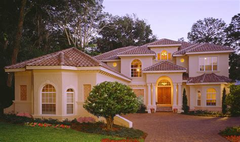 Two Story Florida House Plans by Two Story Library 83383cl Florida Mediterranean