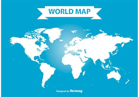 world map with cities vector vector world map free vector stock