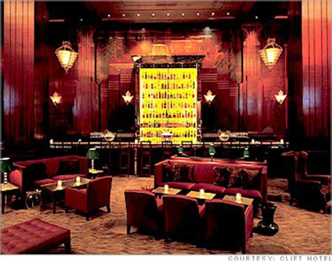 redwood room clift hotel 6 hotel hangouts redwood room at the clift hotel in san francisco 5 cnnmoney