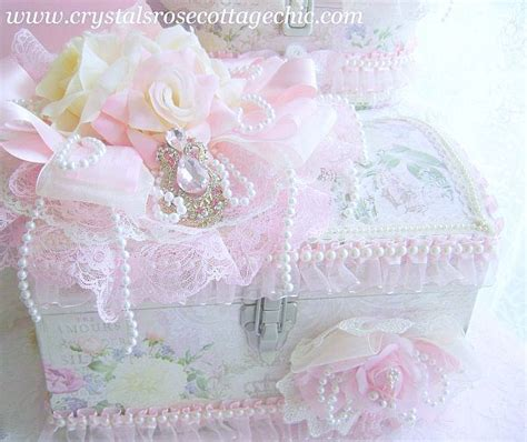 pink decorative christmas boxes ivory and pink rose decorative box bejeweled treasures