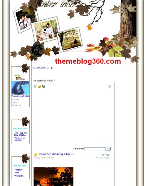 Theme Blog Tinh Yeu Dep | theme blog 360 plus tinh yeu dep themechoblog360