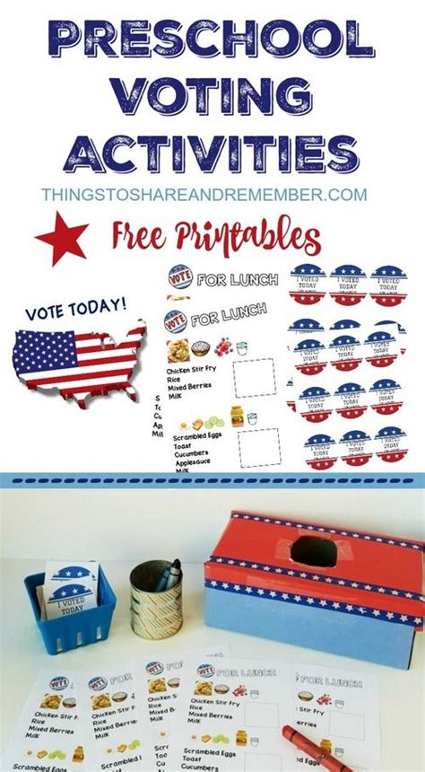 printable voting stickers preschoolers can vote voting today free printables and
