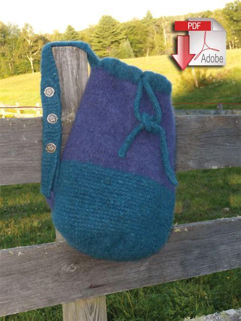 pattern for yarn bag penobscot bay felted bag pattern download felted