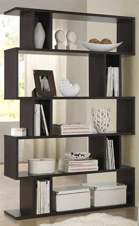 Zig Zag Room Divider Zig Zag Modern Bookshelf Great For A Room Divider Casa Y Decoracion Pinterest Modern