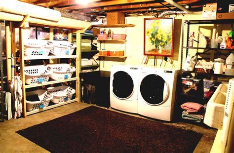 unfinished basement laundry room ideas best tutorial for unfinished basement laundry room makeover goodhomez