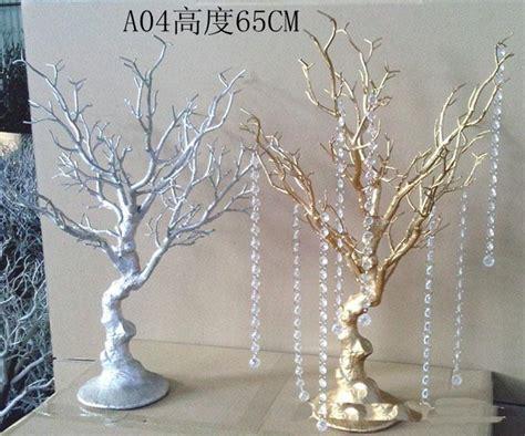 wholesale gold manzanita tree table centerpiece