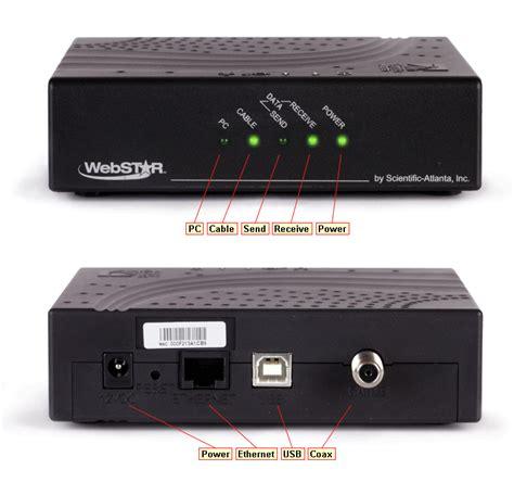 Modem Media cable modem troubleshooting scientific atlanta dpc2100