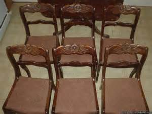Tell City Dining Table And 6 Chairs Tell City Chair Co Dining Table Chairs Price 400 00