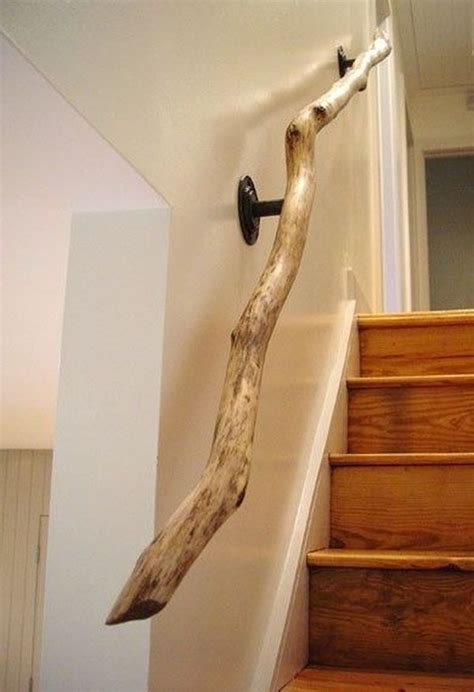 Tree Branch Banister Best 25 Handrail Ideas Ideas On Pinterest Stair