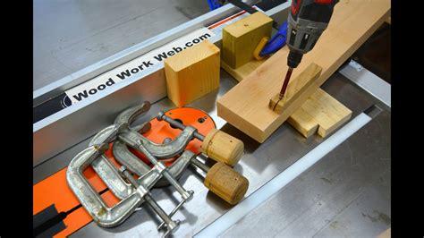 woodworking tips jigs ideas beginners  youtube