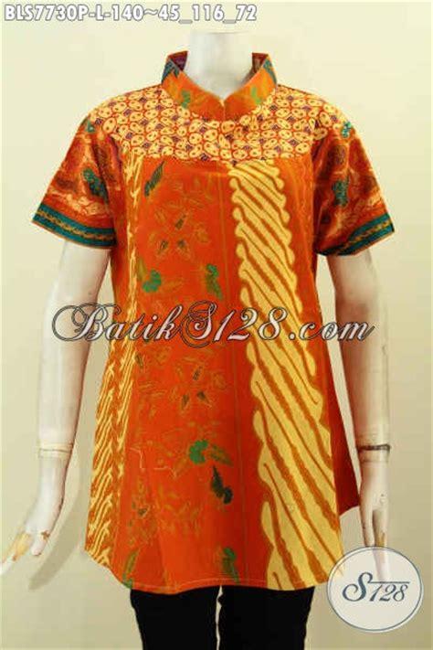 desain baju batik kekinian blus batik kombinasi desain kekinian yang modis dan keren