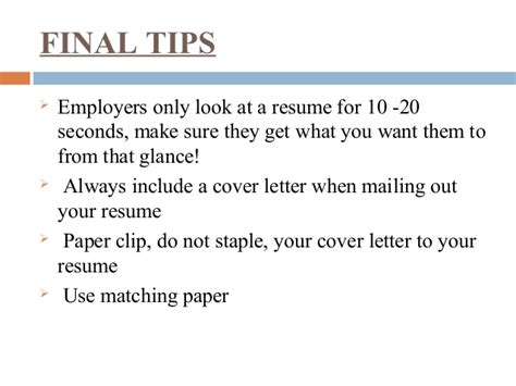 should you staple your paper clip your resume 28 images