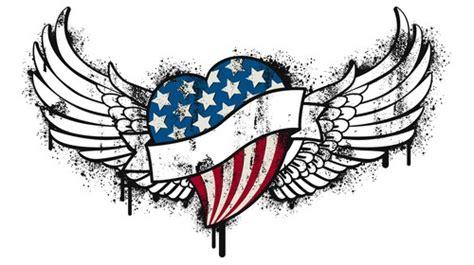 design art usa usa flag heart tattoo design tattooshunt com