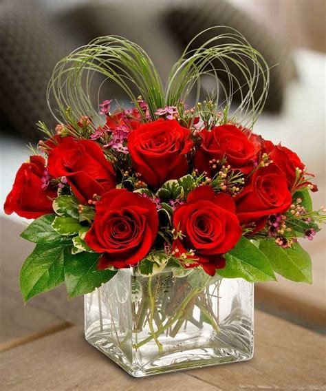 shaped flower arrangements valentines day send your true a message from your with