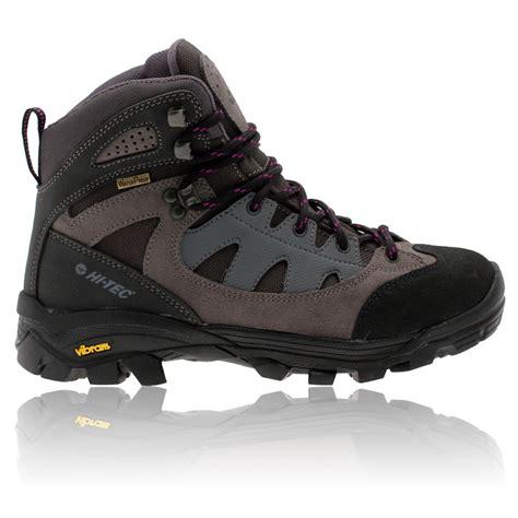 hi tec womens maipo grey purple waterproof trail walking