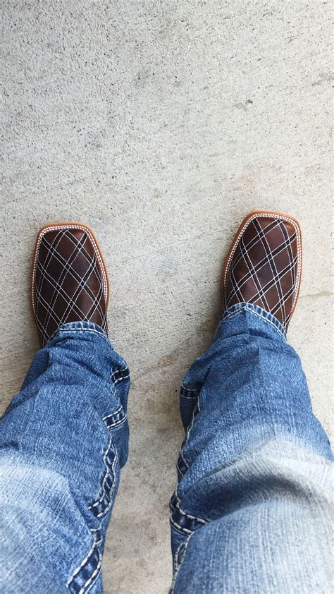 mens cowboy boot slippers bean power s distressed brown patchwork