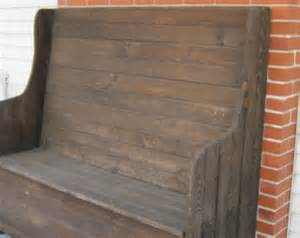 high back benches pdf high back storage bench plans free