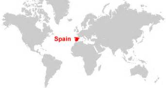 Where Is Spain On The World Map by Spain Map And Satellite Image