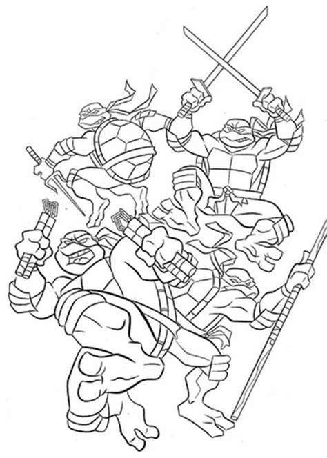printable ninja images printable coloring ninja turtles donatello and