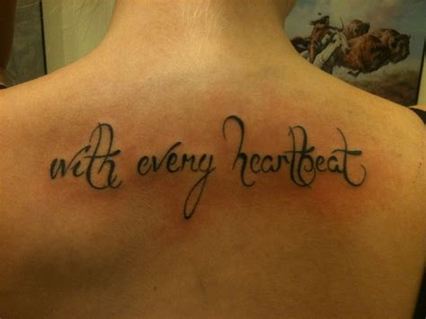 Tattoo With Every Heartbeat Bedeutung | tattoo with every heartbeat by flosch art on deviantart