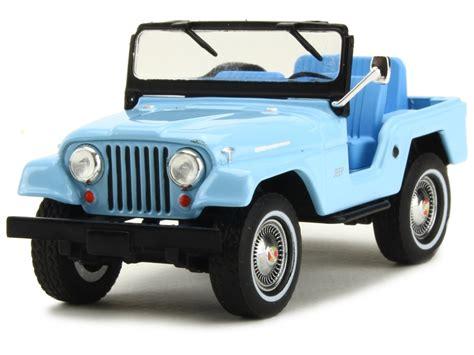 jeep light blue jeep cj5 elvis 1963 greenlight 1 43 autos