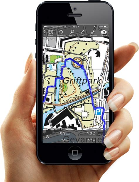 topo gps topographic maps  iphone  android