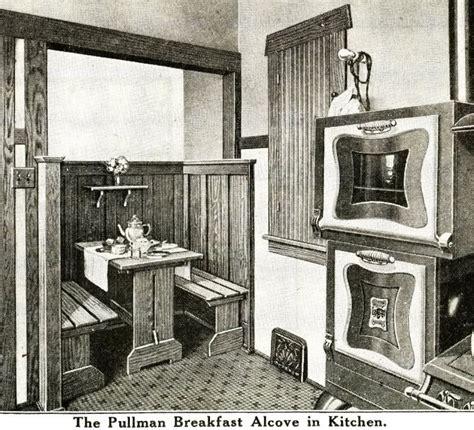 interior view  sears ashmore kitchen nook vintage