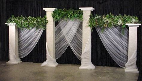Wedding Pillars on Pinterest   Wedding Columns, Home